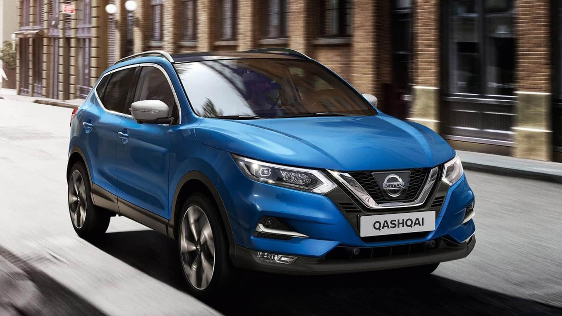 Nissan Qashqai blå