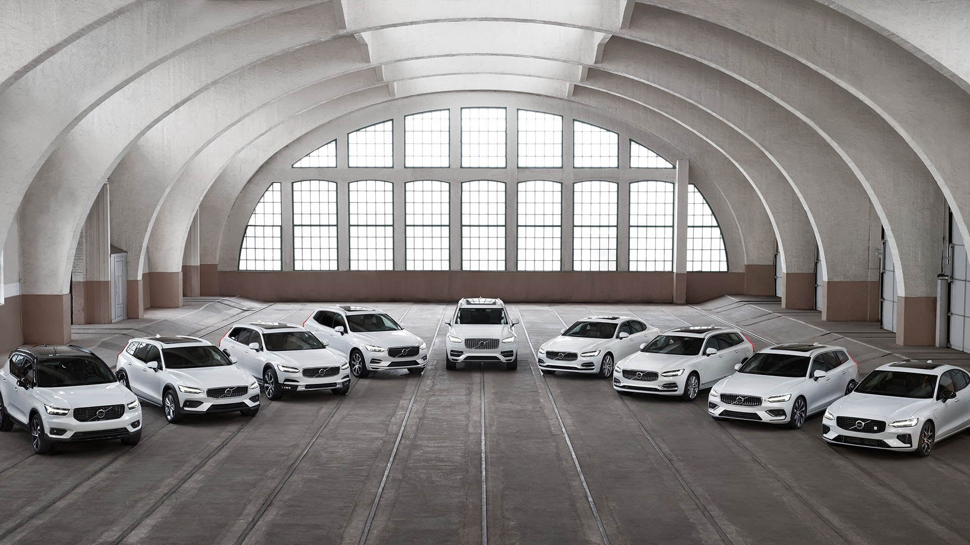 Volvo alle bilmodeller