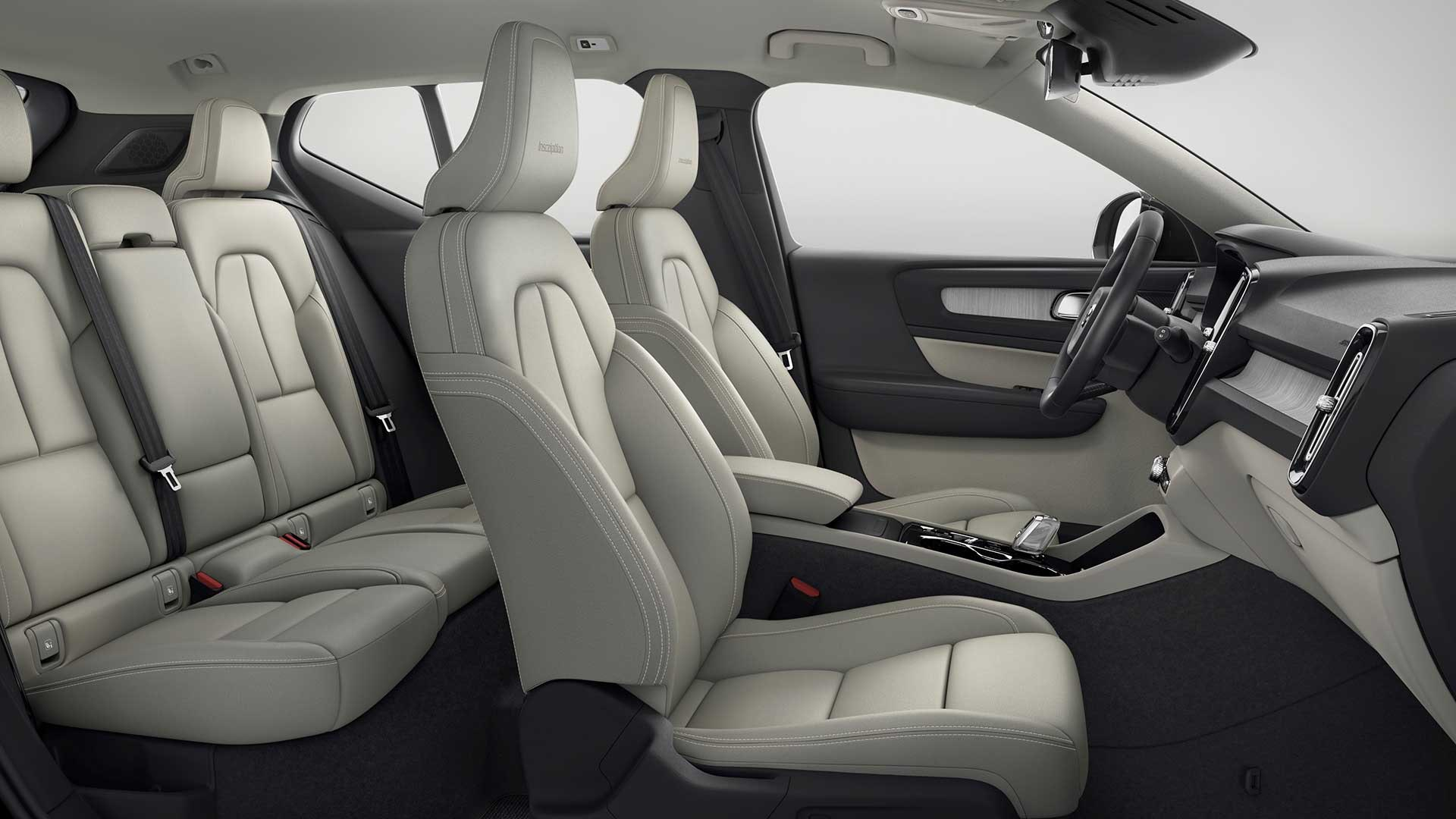 Volvo XC40 indeni