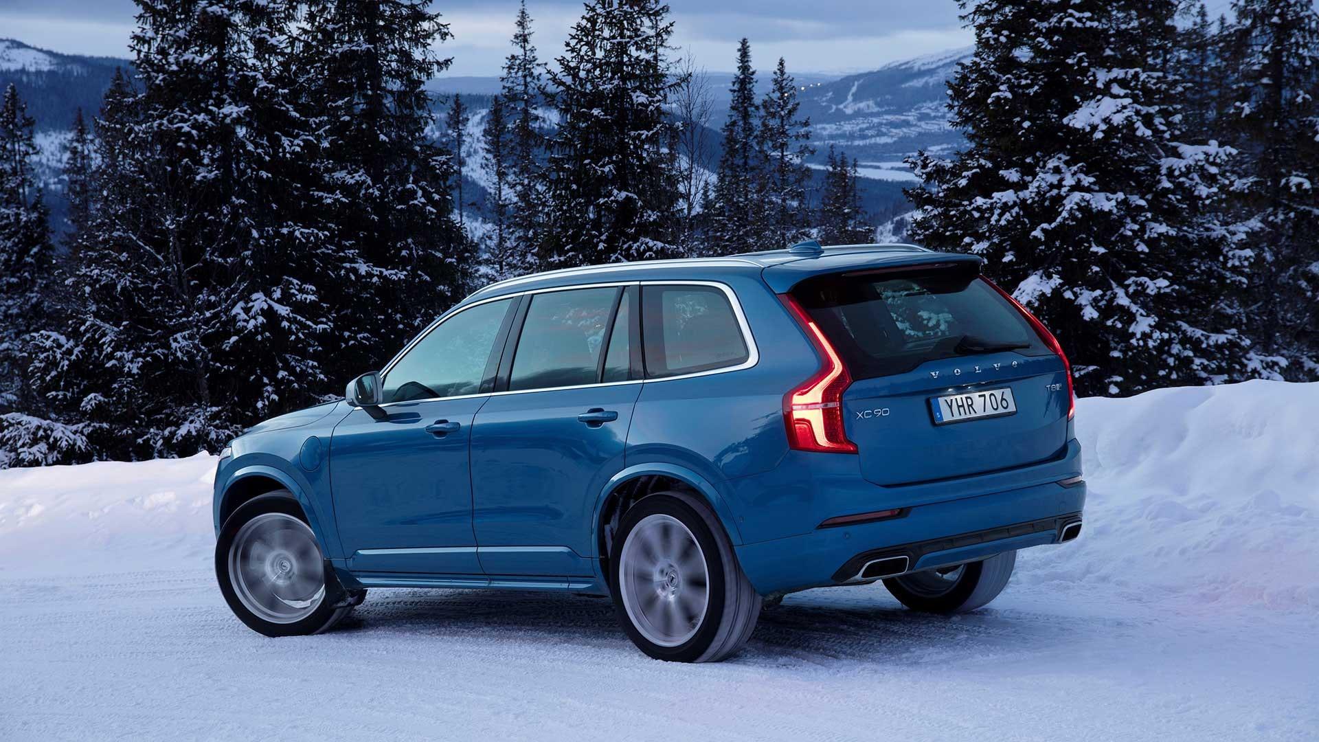Volvo XC90 sne