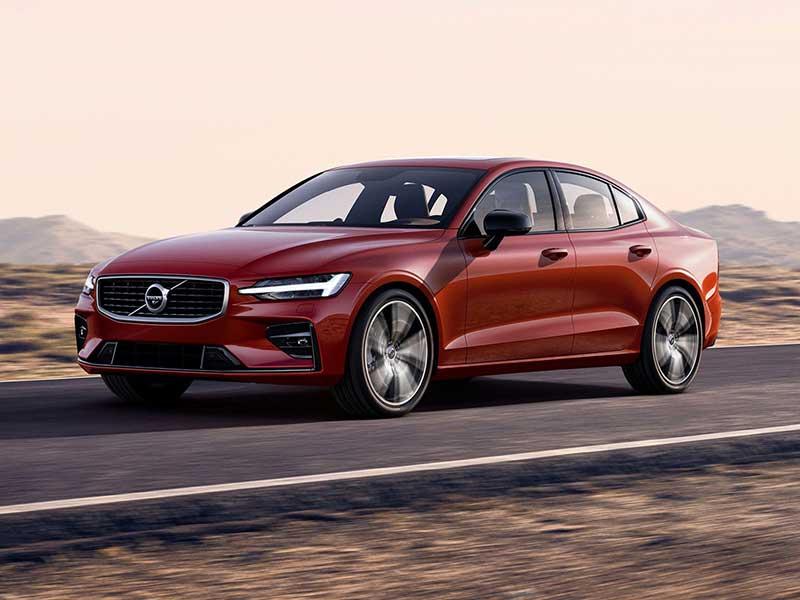 Volvo S60 rød