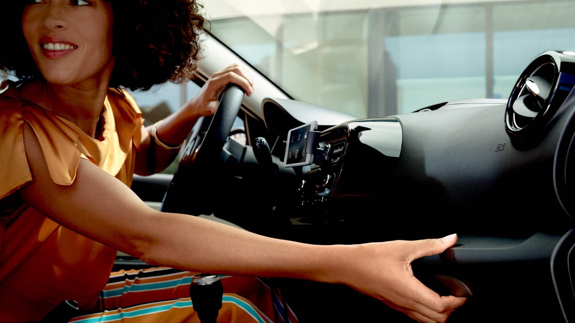 Renault Twingo interiør
