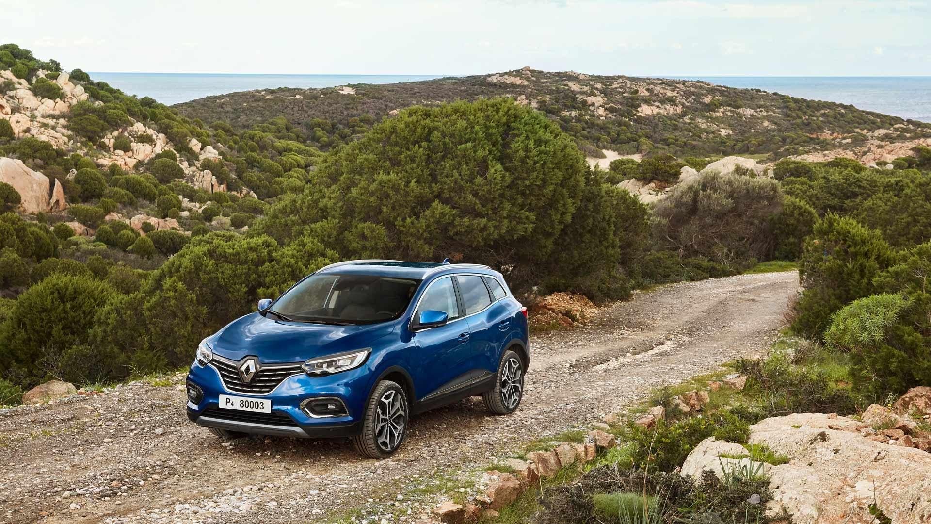 Renault Kadjar front blå