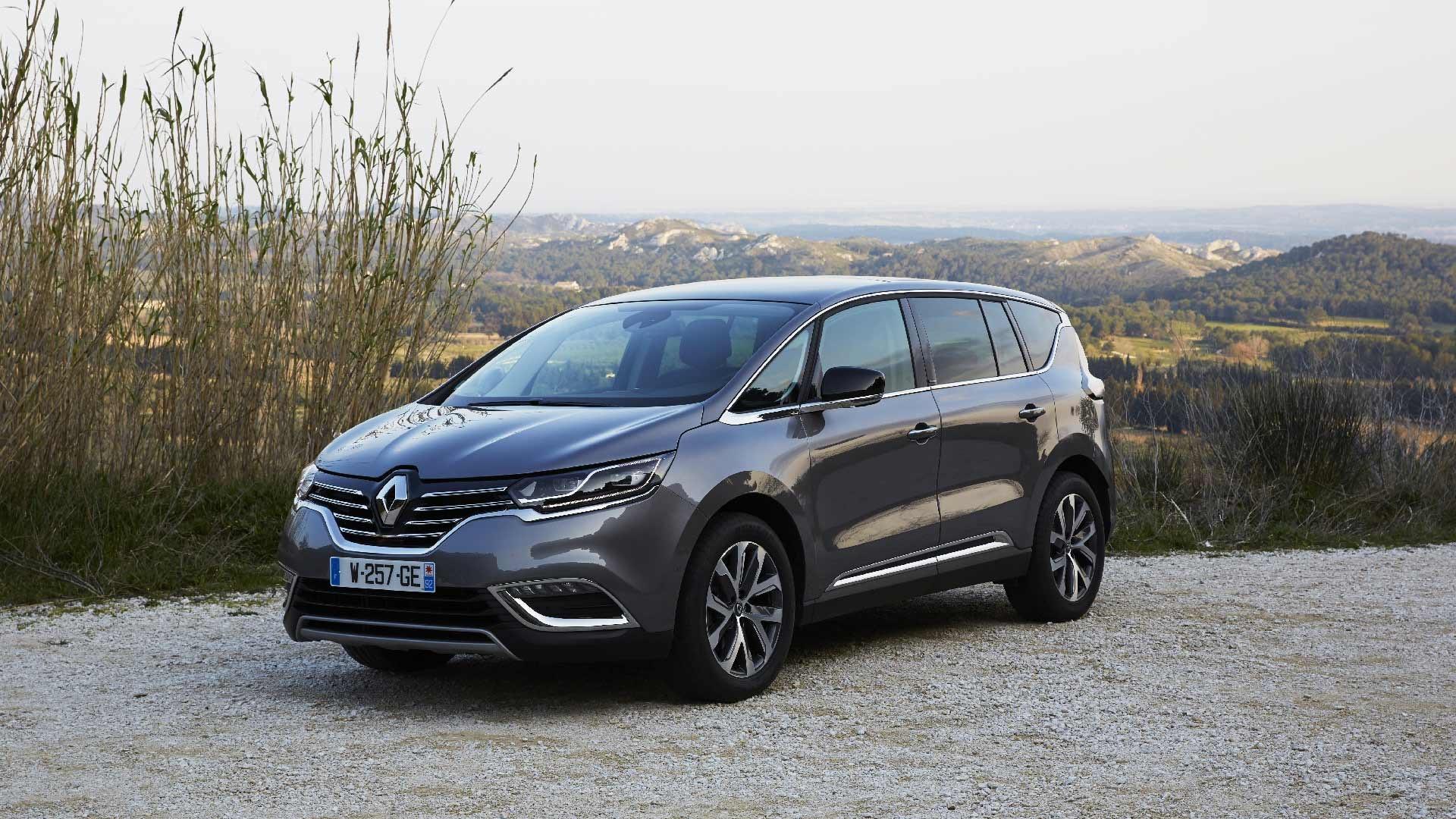 Renault Espace grå front