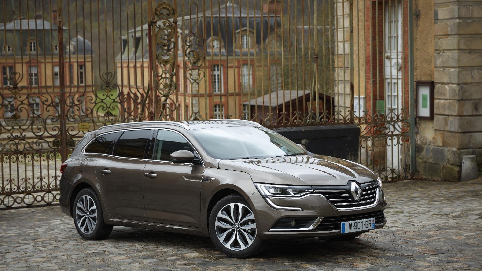 Renault Talisman front beige