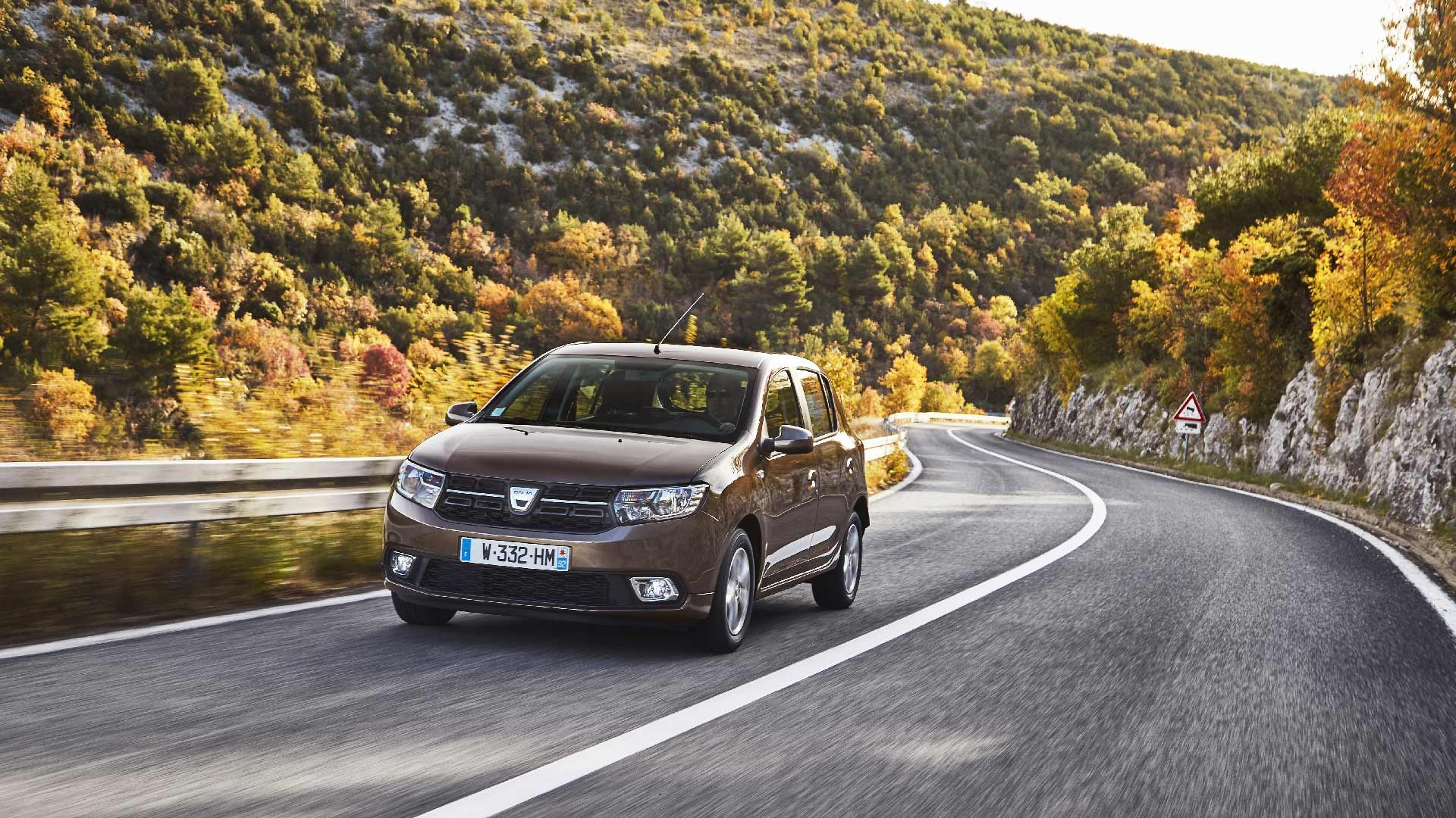 Dacia Sander foran beige