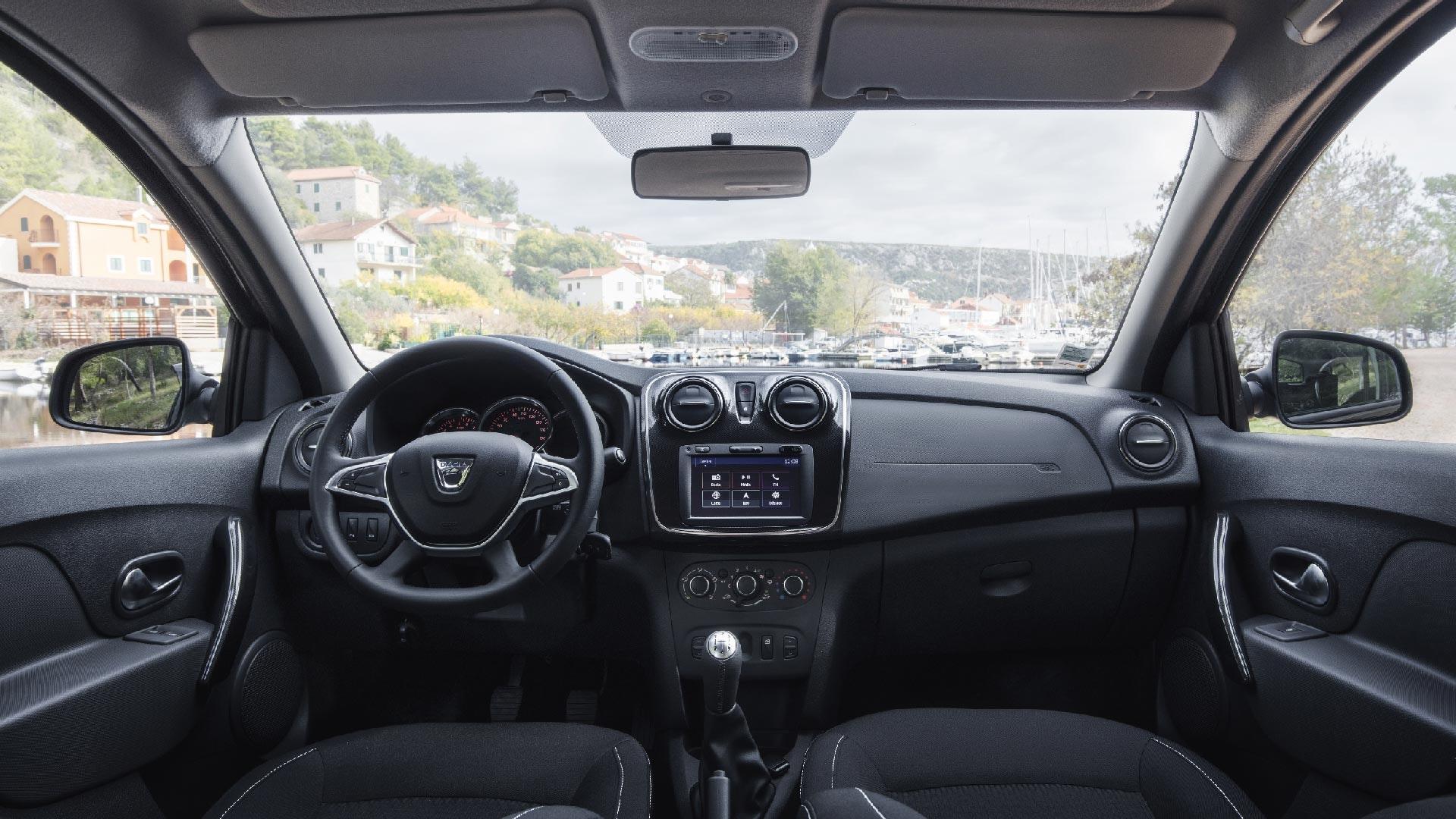 Dacia Sandero interiør