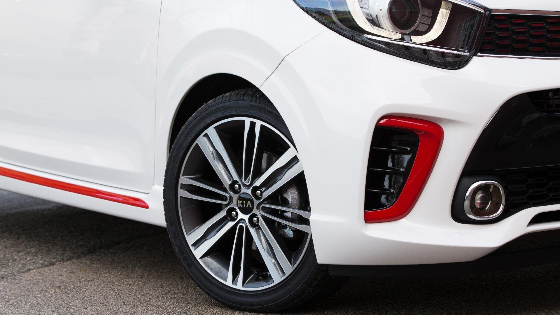 Kia Picanto hjul detalje