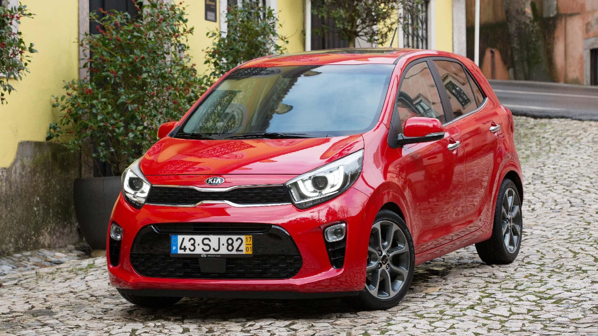 Kia Picanto rød front