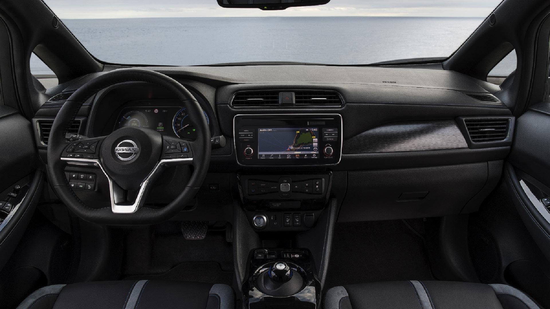 Nissan Leaf Interiør
