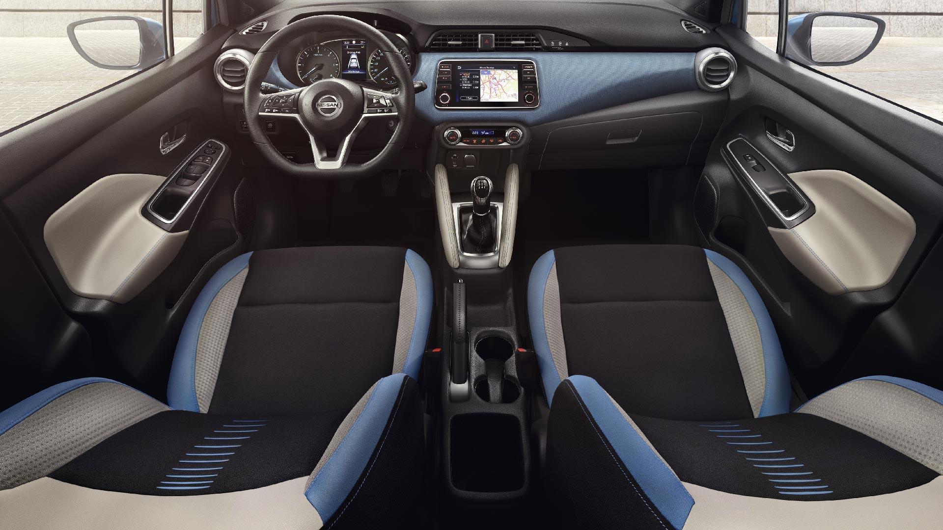 Nissan Micra interiør