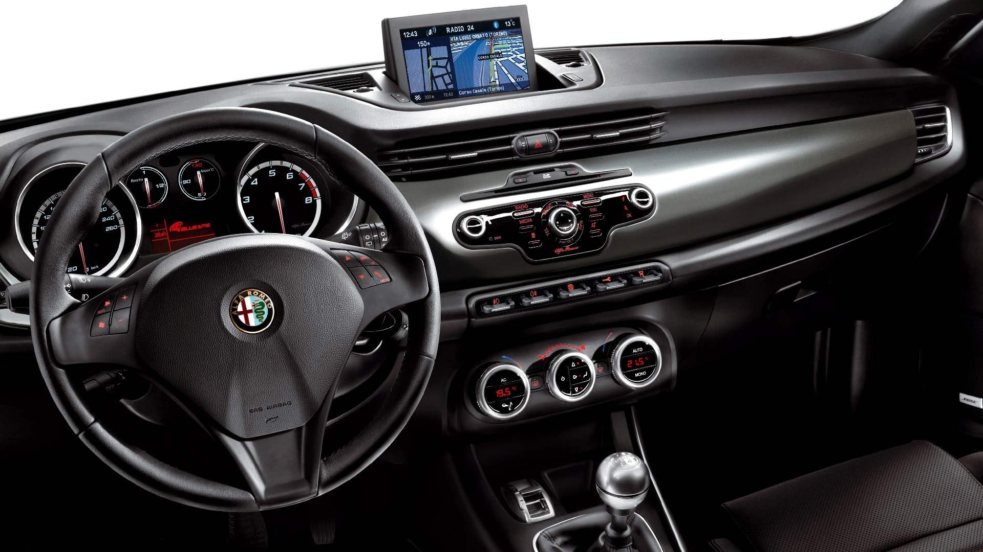 Alfa Romeo Giulietta interiør