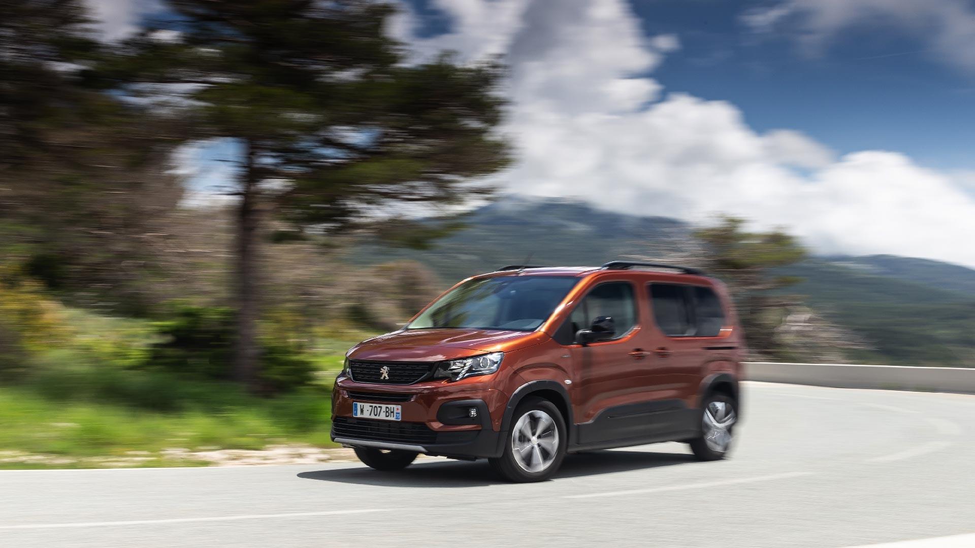 Peugeot Rifter sving