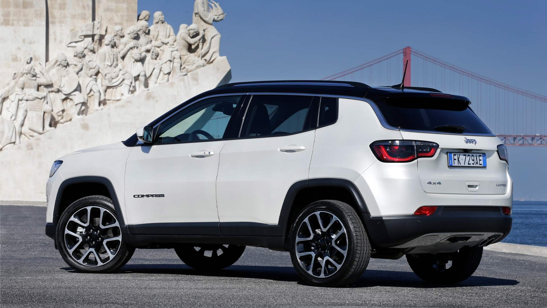 Jeep Compass front side