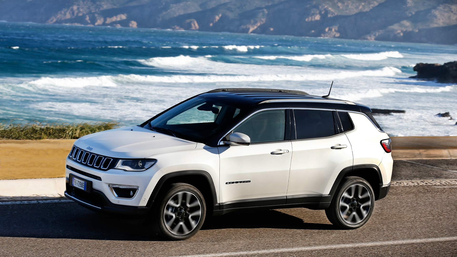Jeep Compass hvid