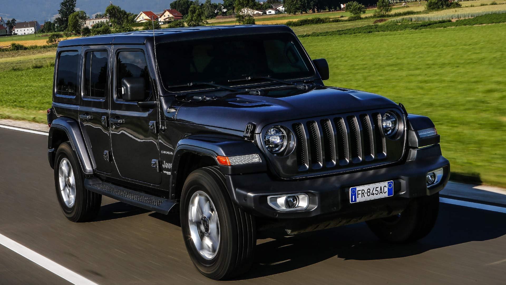 Jeep Wrangler sort front
