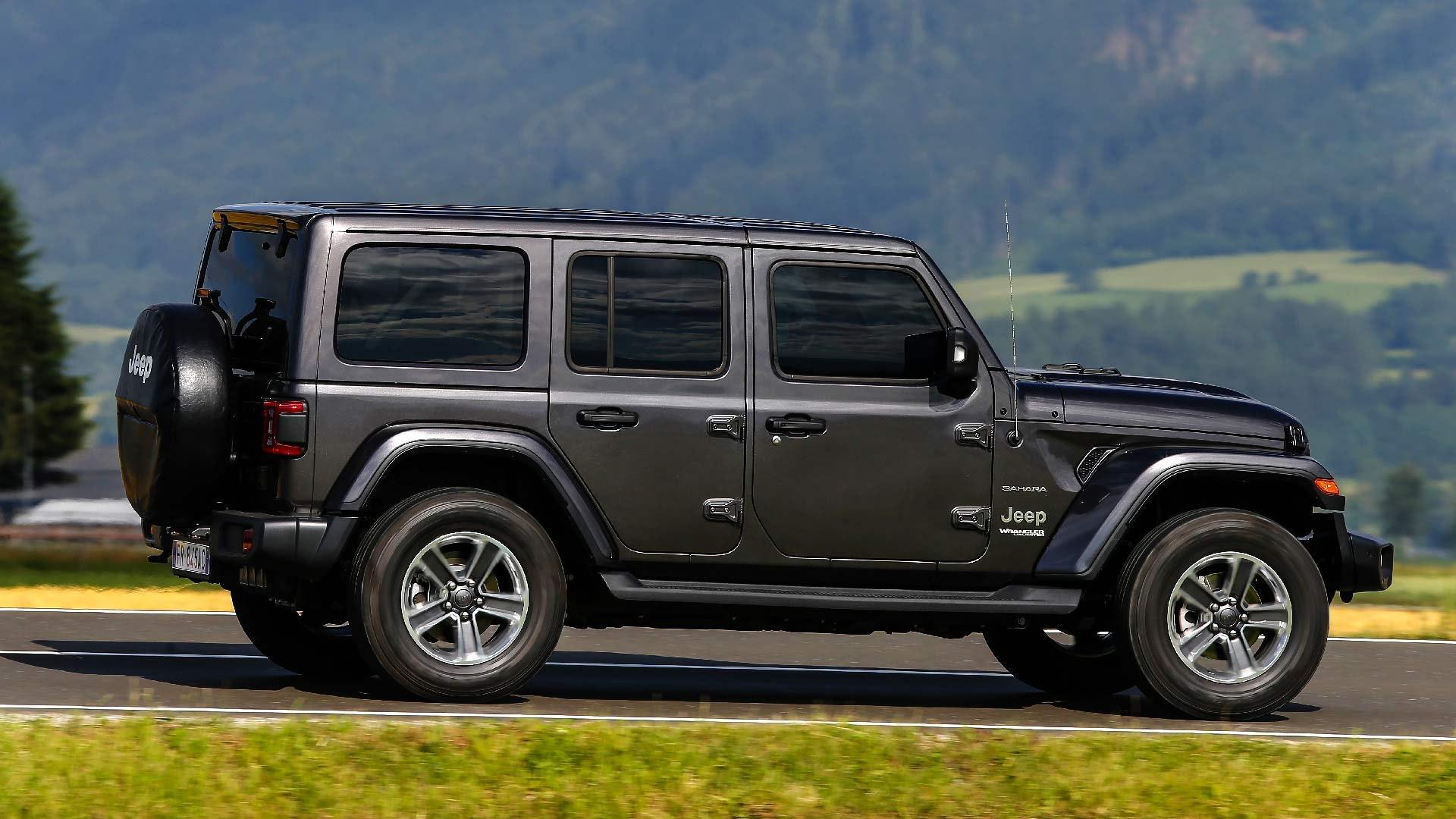 Jeep Wrangler sort