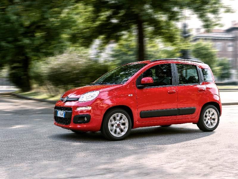 Fiat Panda rød