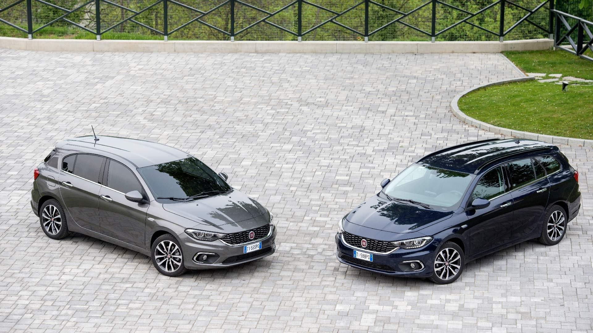 Fiat Tipo begge modeller