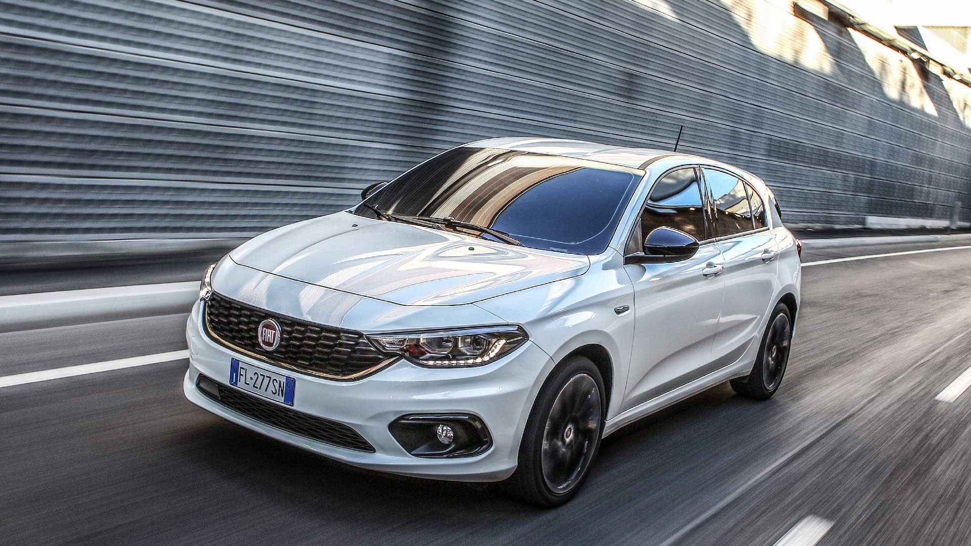 Fiat Tipo hvid front