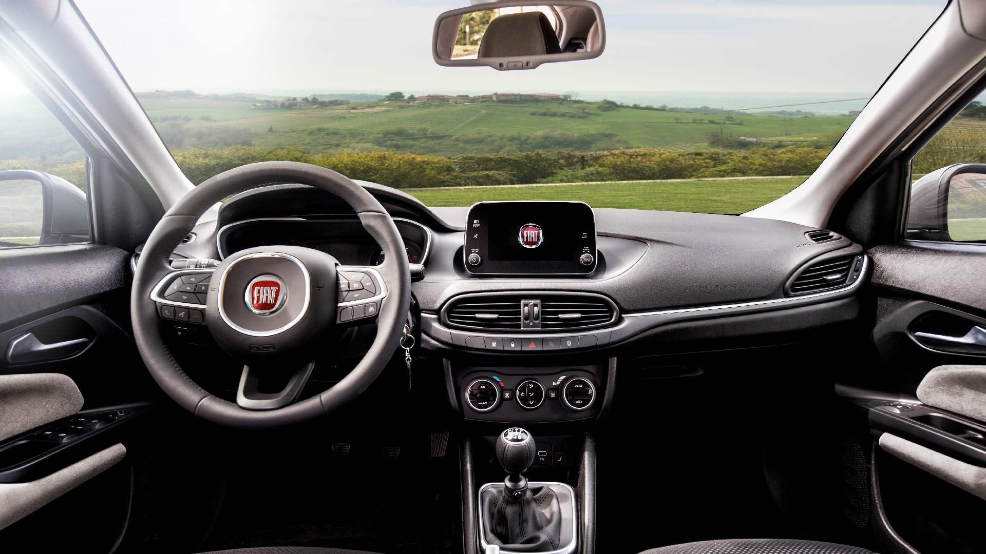 Fiat Tipo interiør