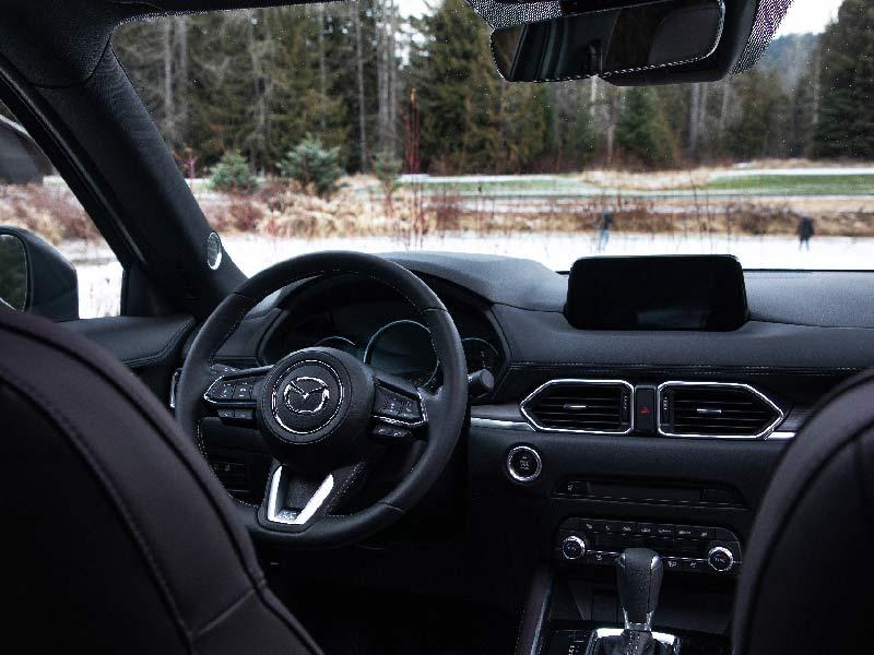 Indvendig i Mazda CX-5