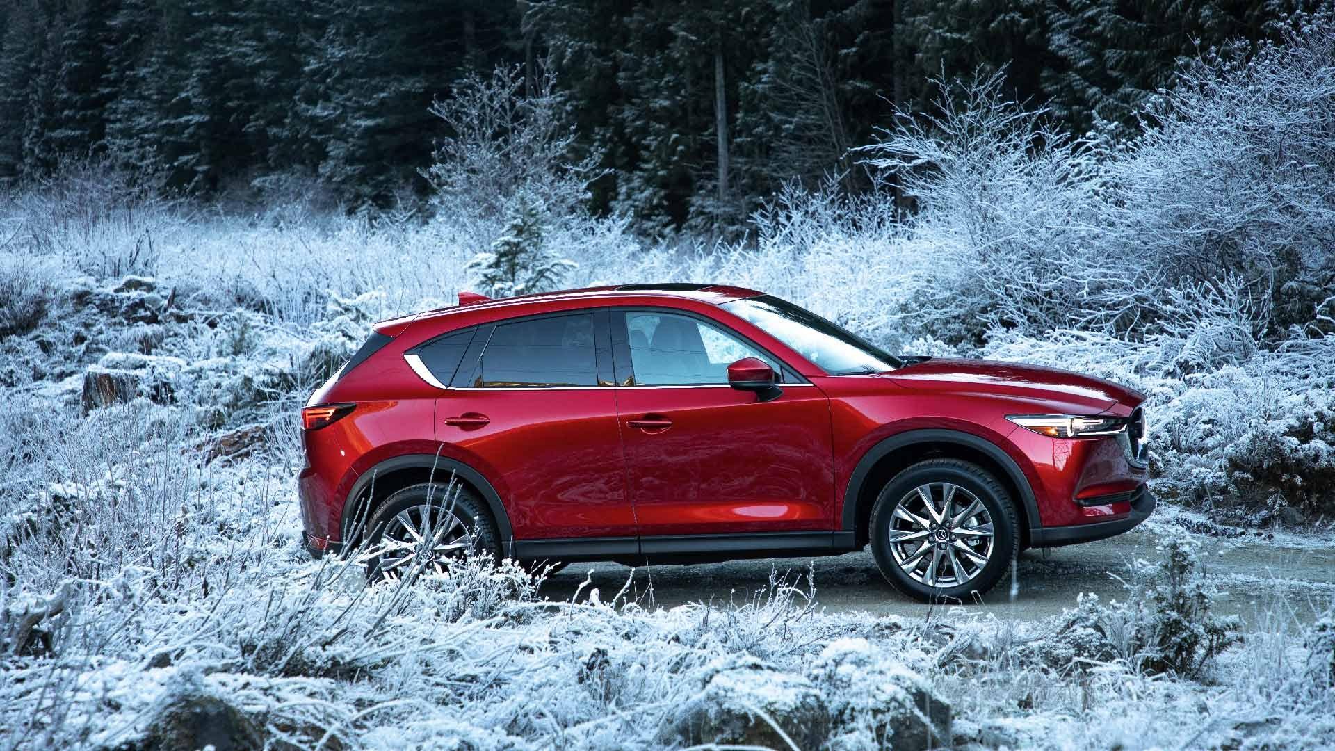 Mazda CX-5 rød side