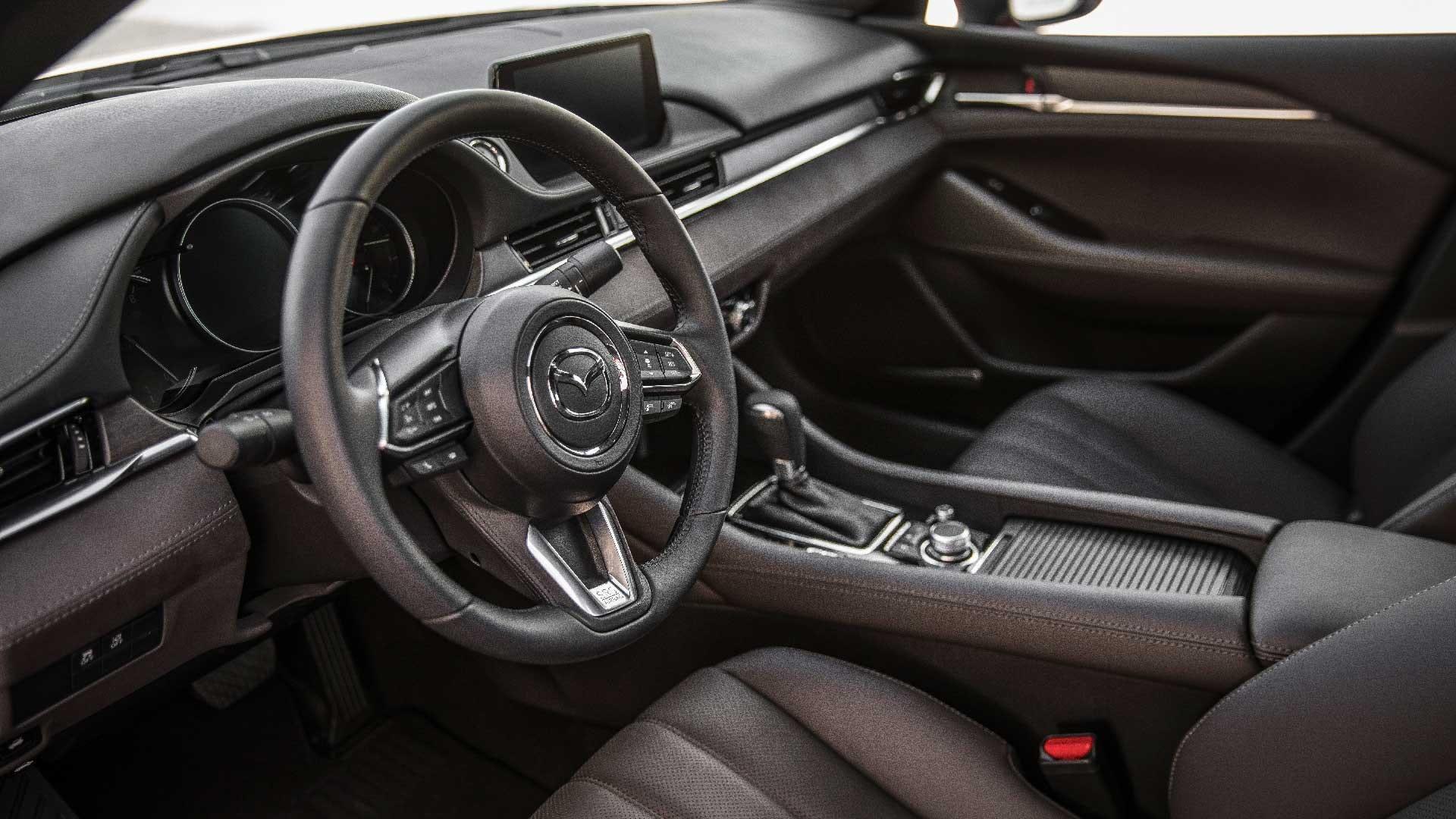Mazda 6 interiør