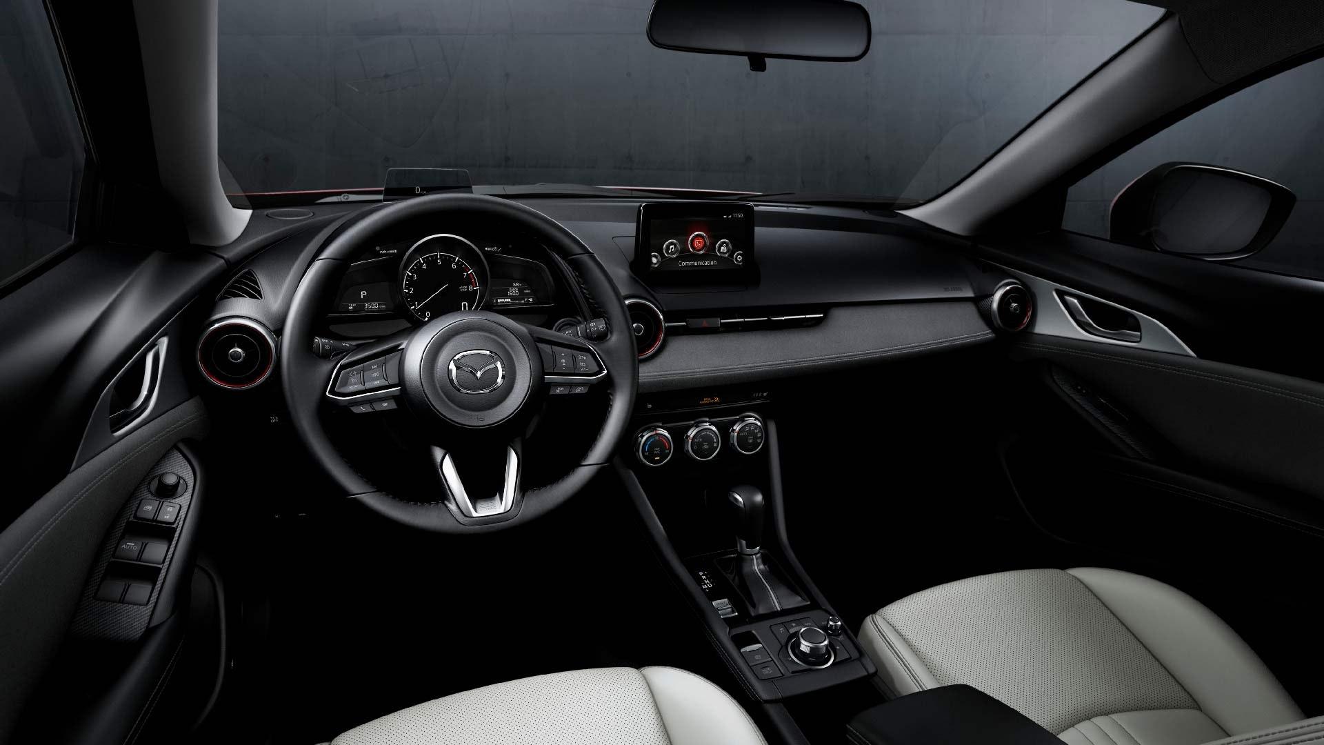 Mazda CX-3 interiør