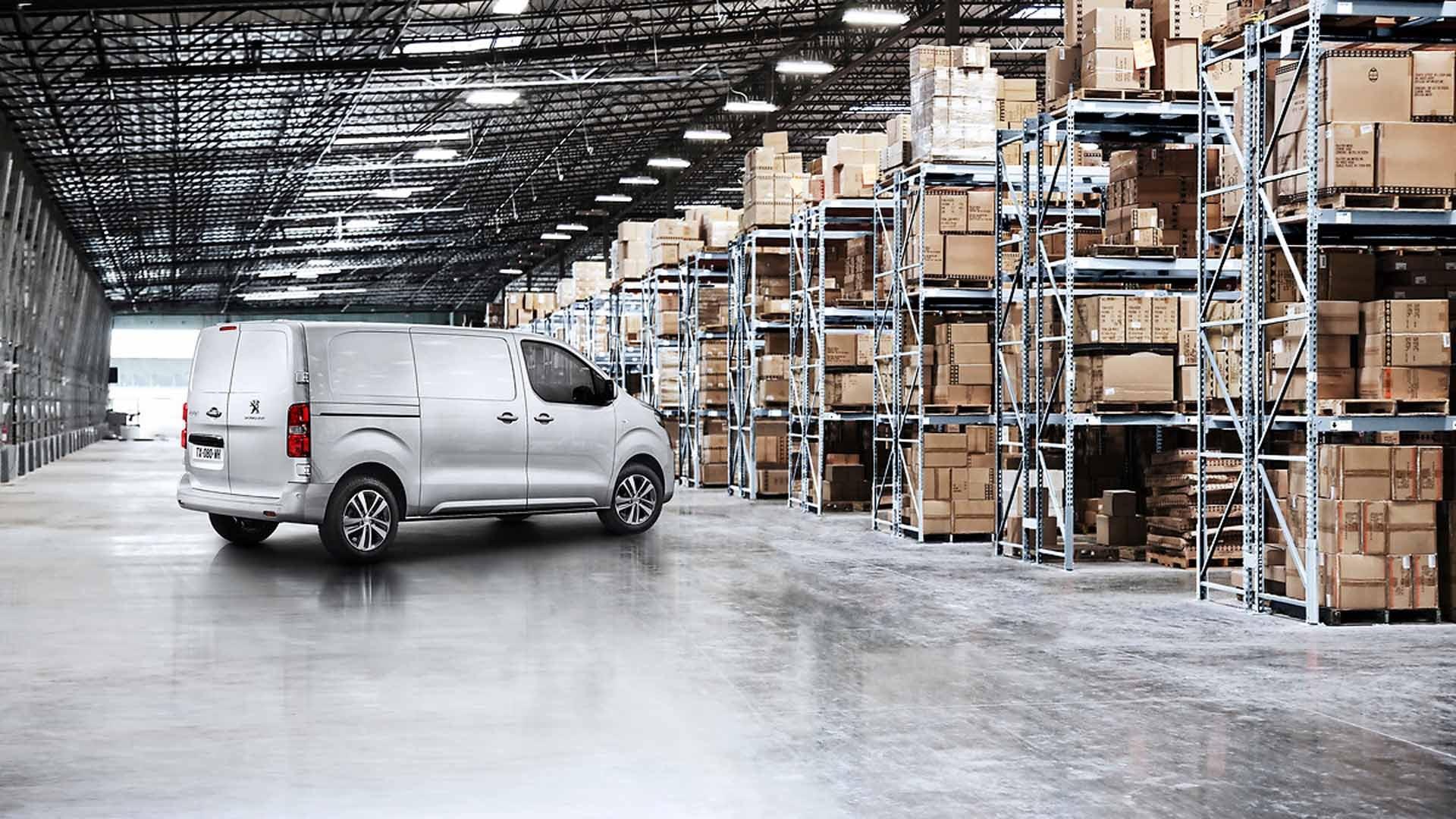 Peugeot Expert side sølv