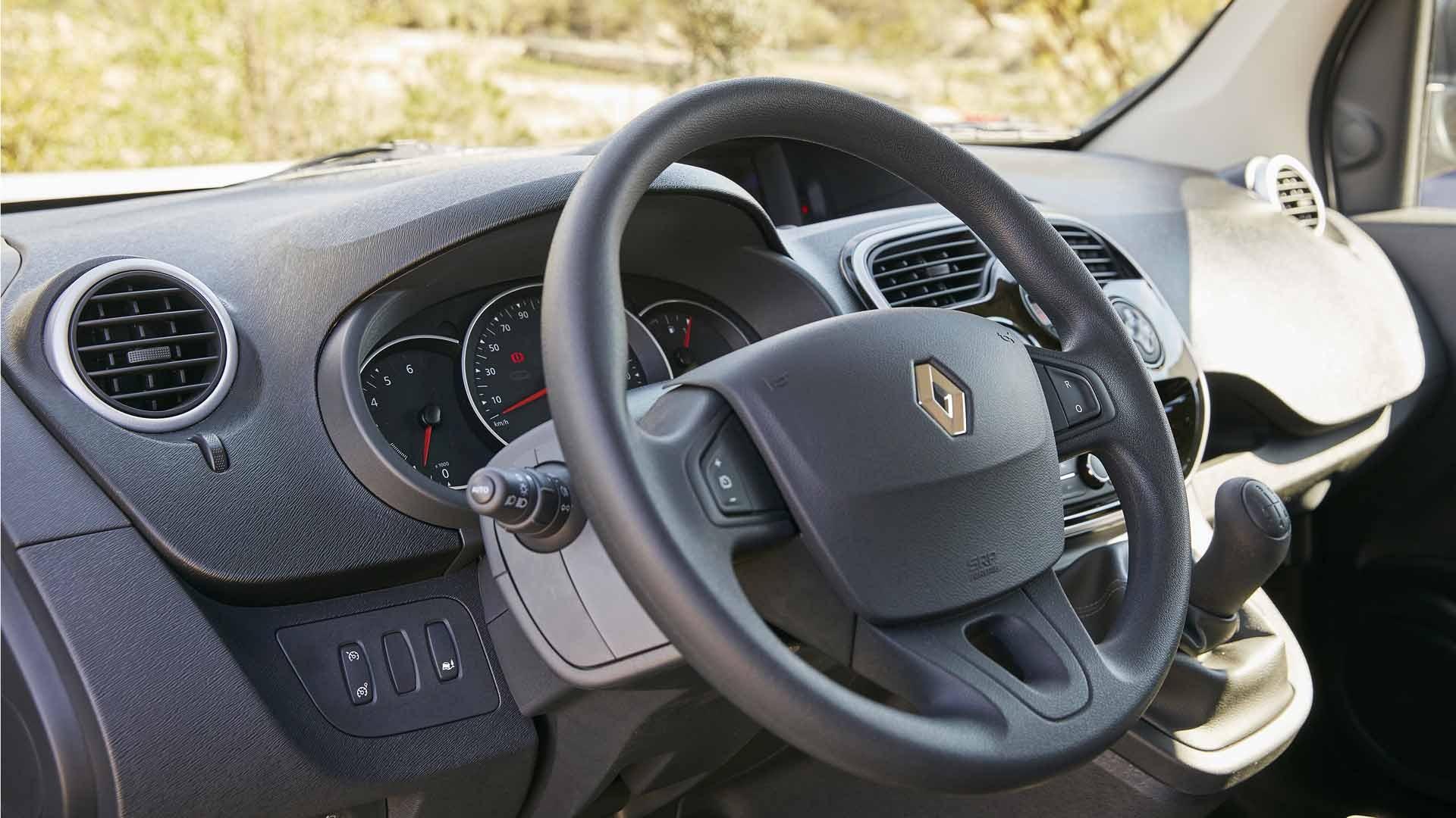 Renault Kangoo interiør