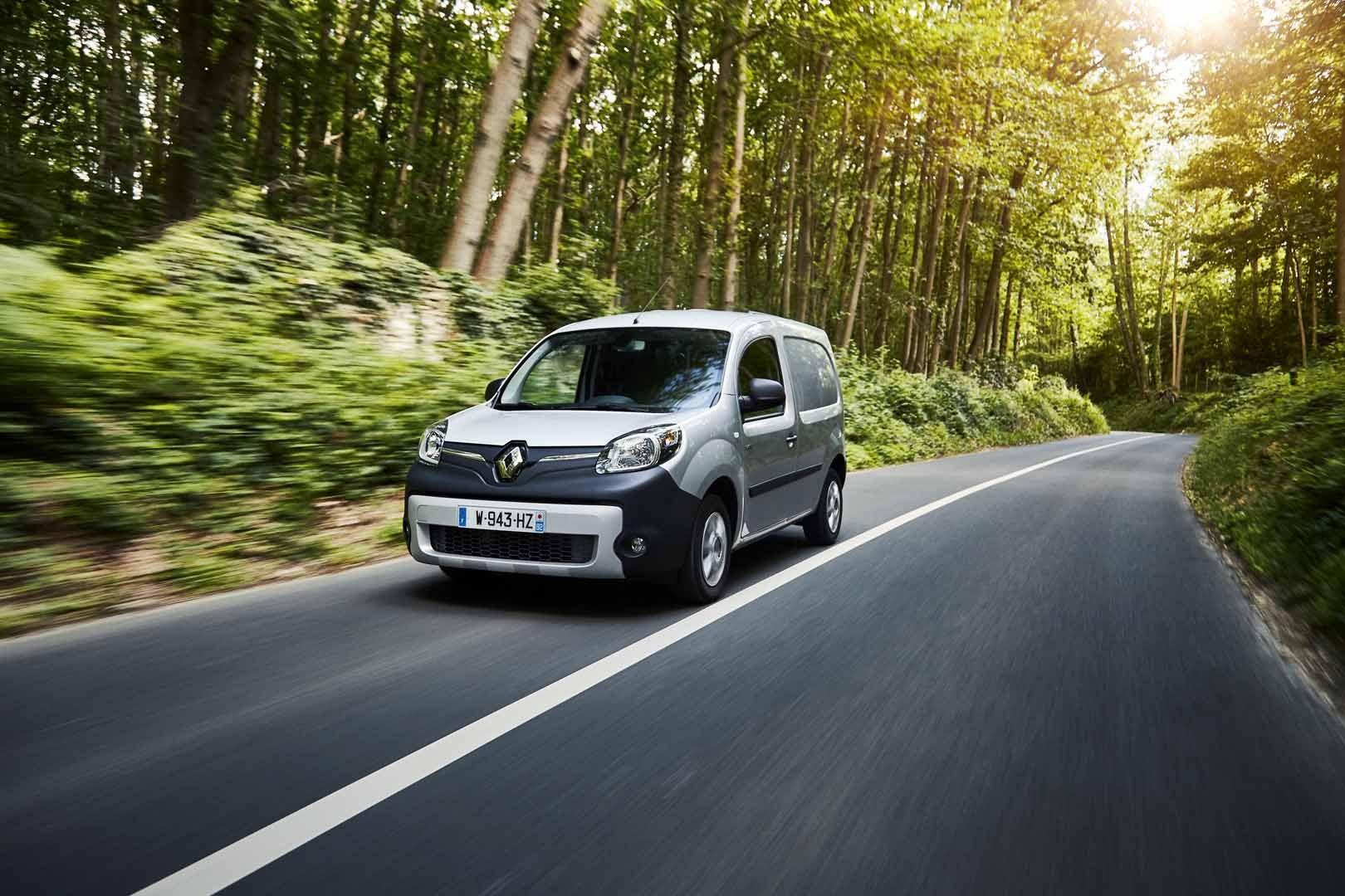 Renault Kangoo Z.E front