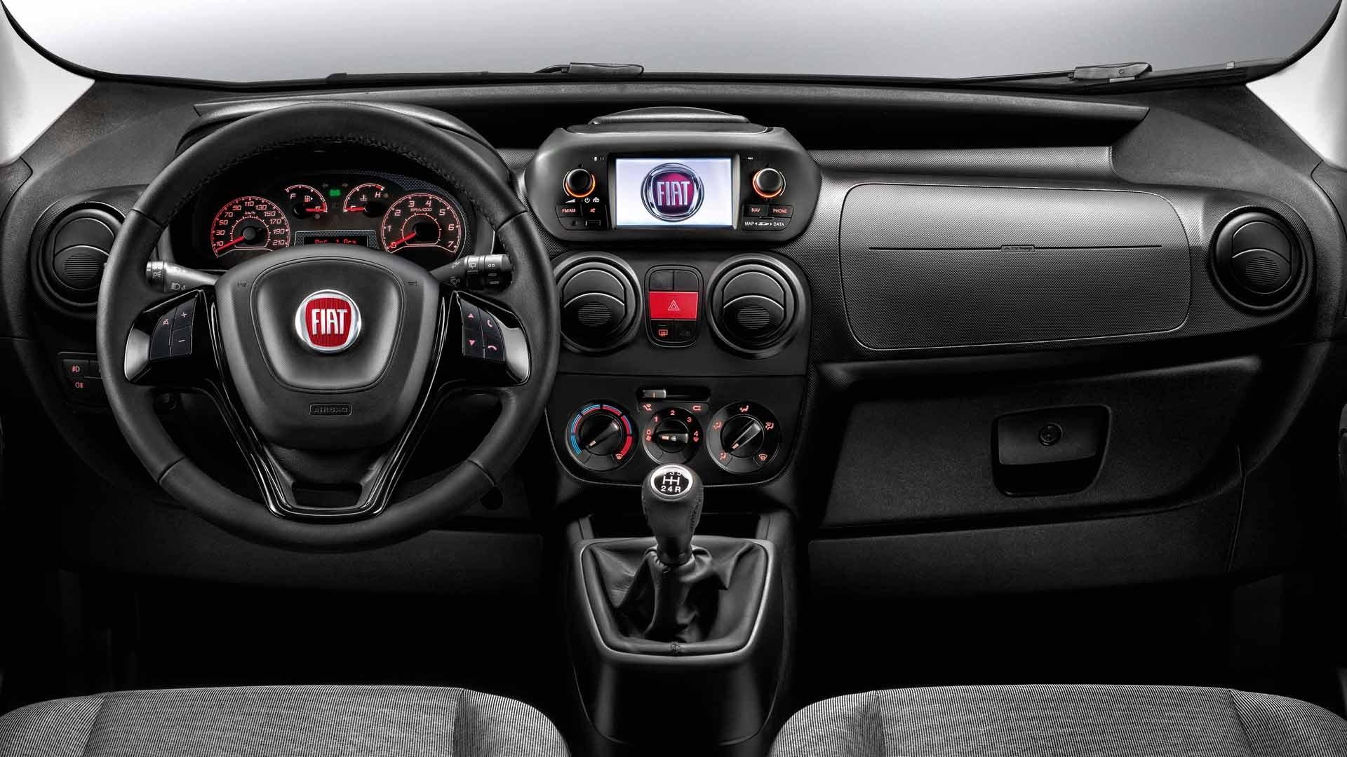 Fiat Fiorino interiør