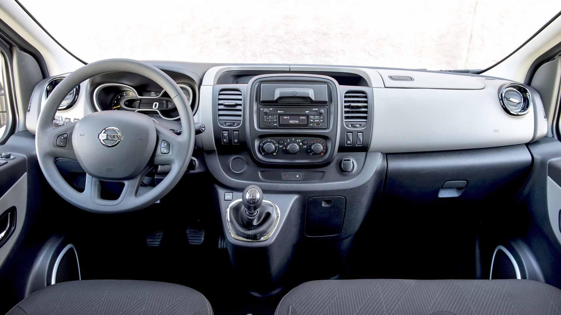 Nissan NV300 interiør