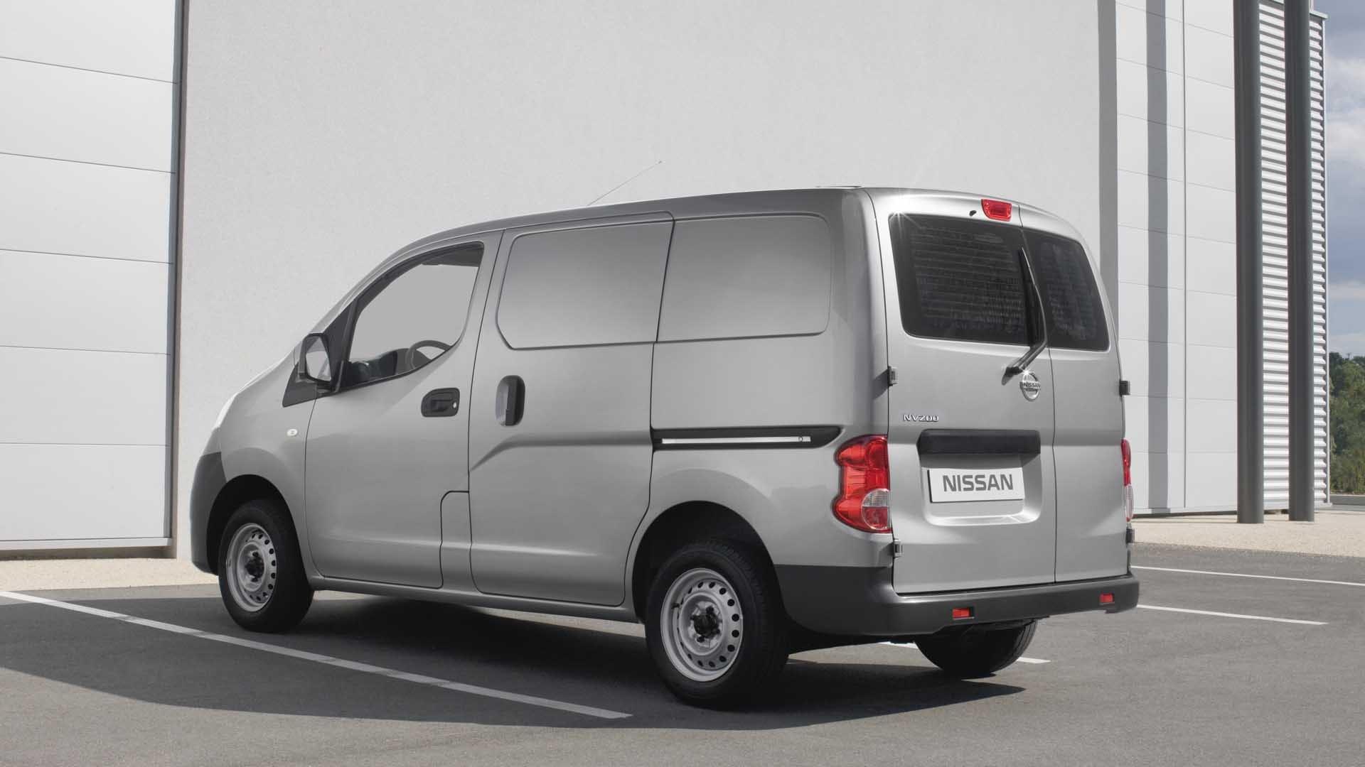 Nissan NV200 grå bagende