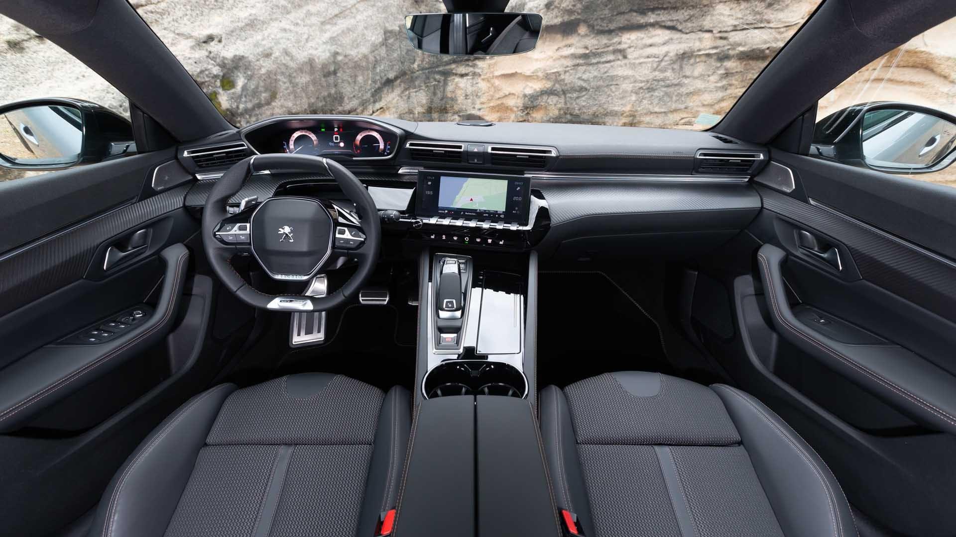 Peugeot 508 interiør