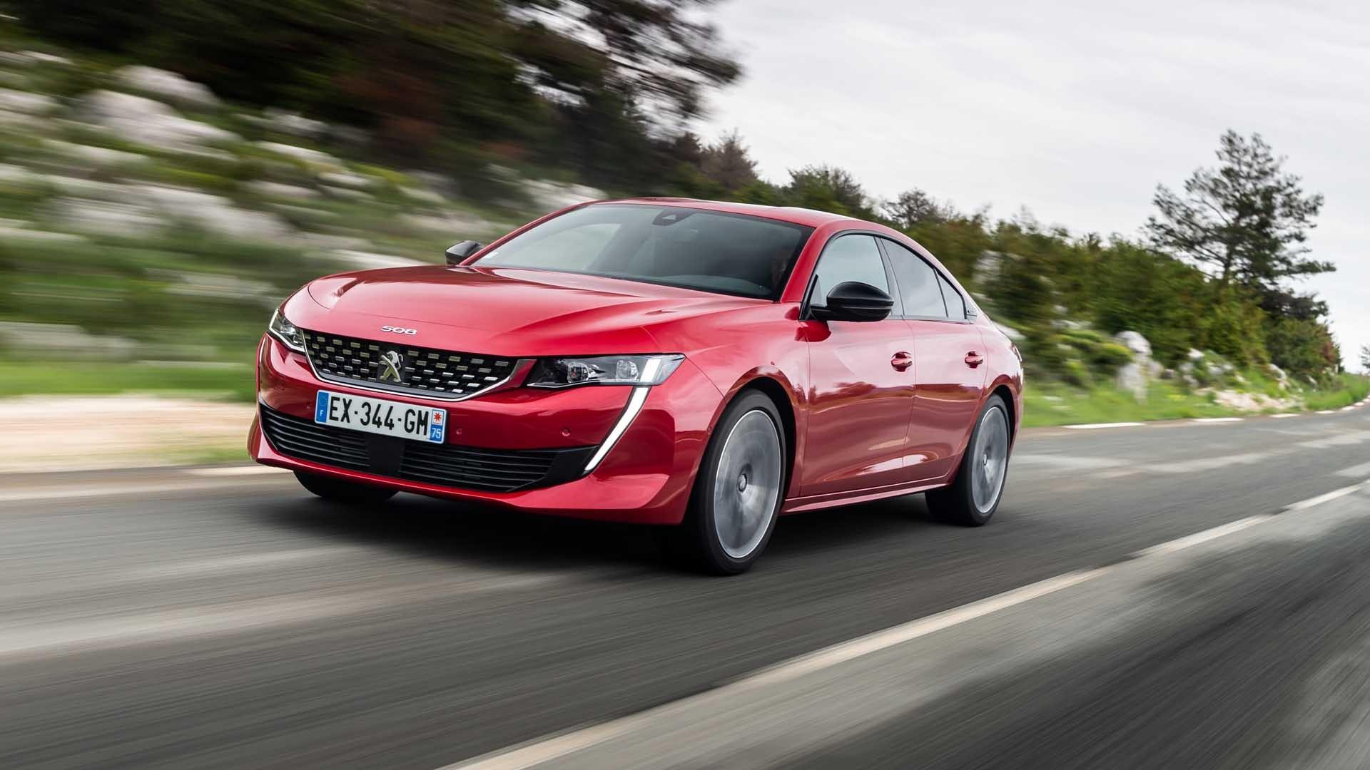 Peugeot 508 rød front