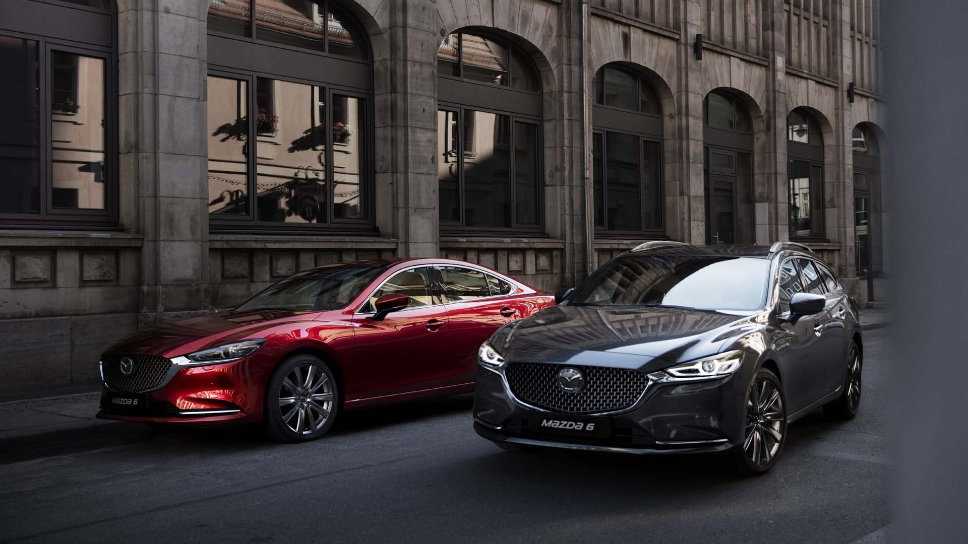 Mazda 6 Stationcar og Sedan