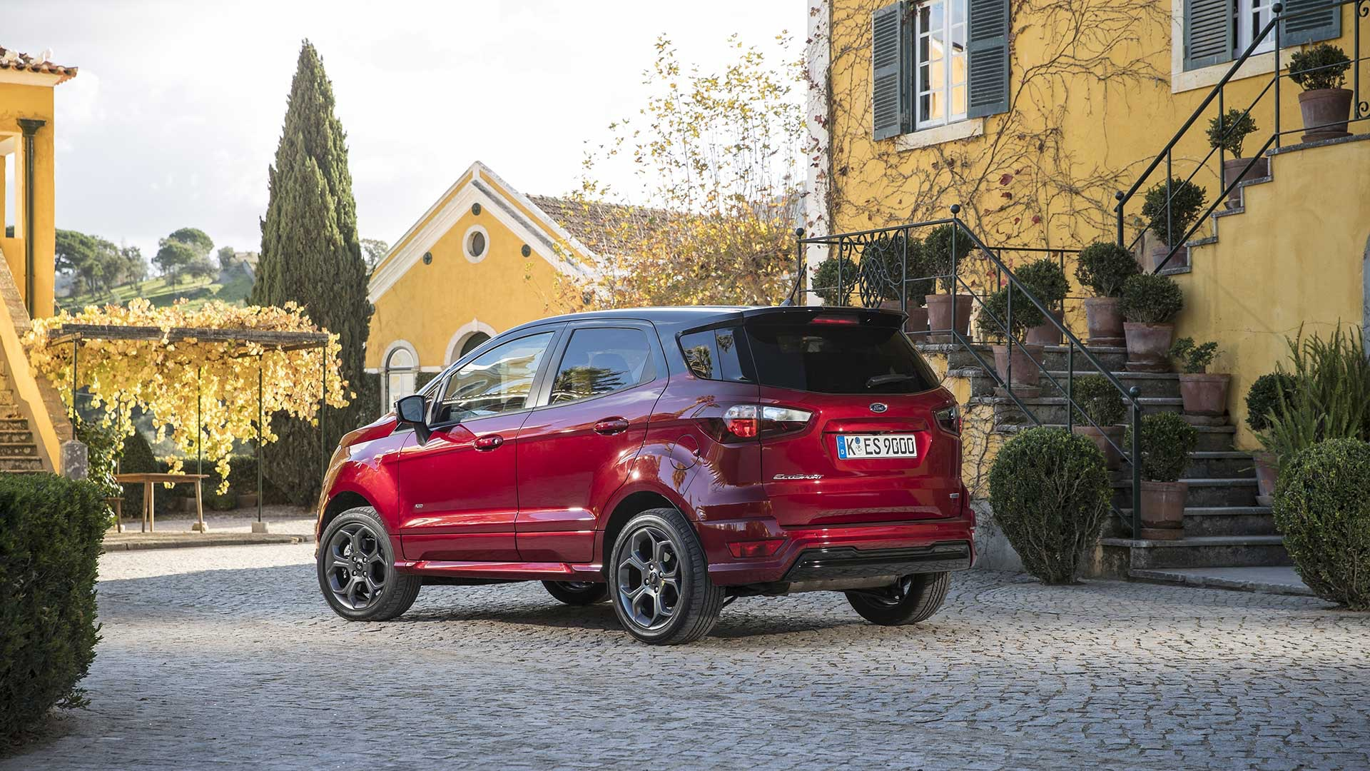 Ford EcoSport Roed