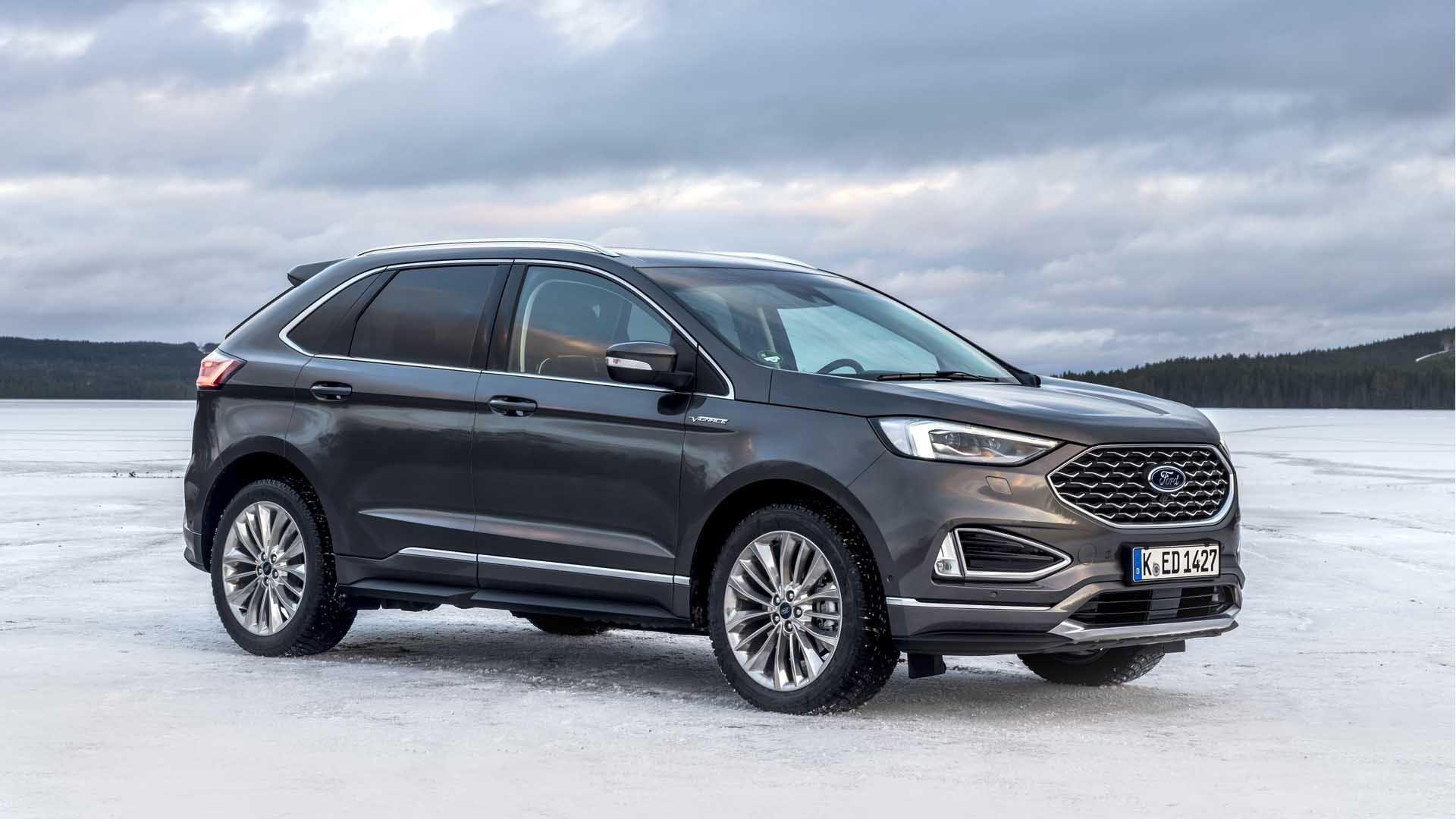 Ford Edge Vignale grå
