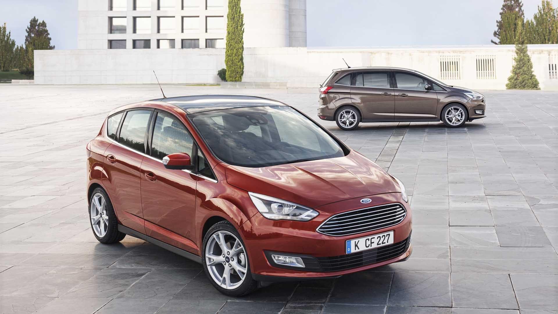Ford C-MAX rød