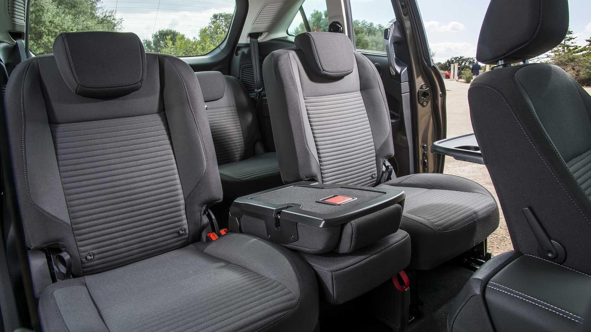 Ford C-MAX bagsæder interiør