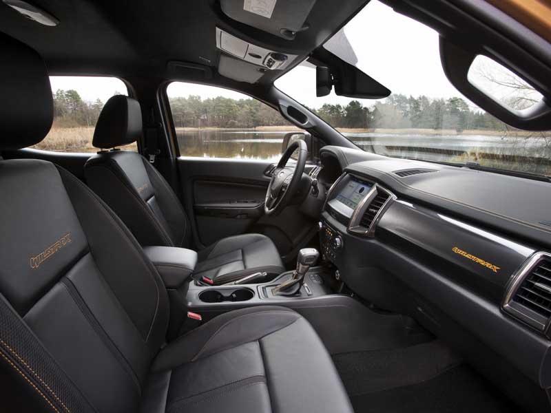 Ford Ranger interiør