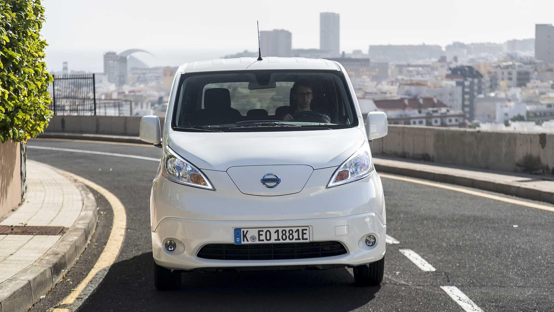 Nissan E-NV200 Evalia front hvid
