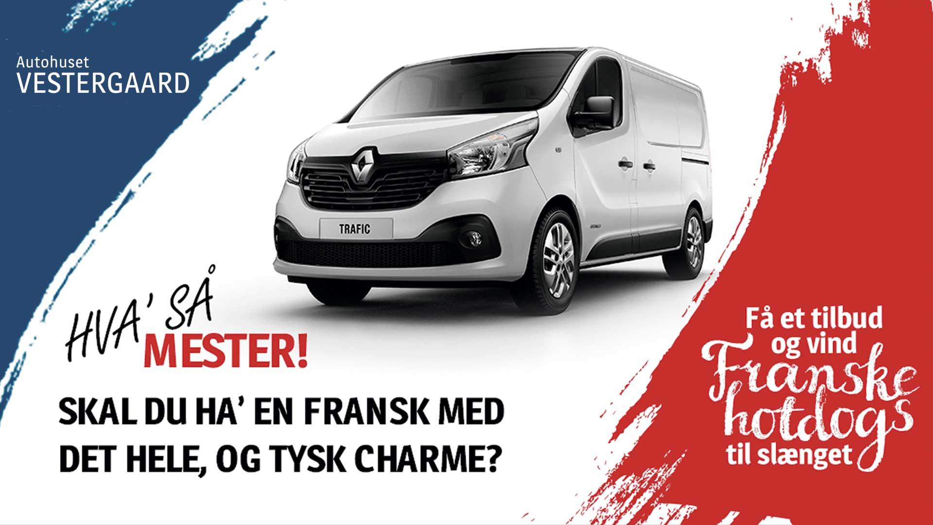 Renault Trafic konkurrence