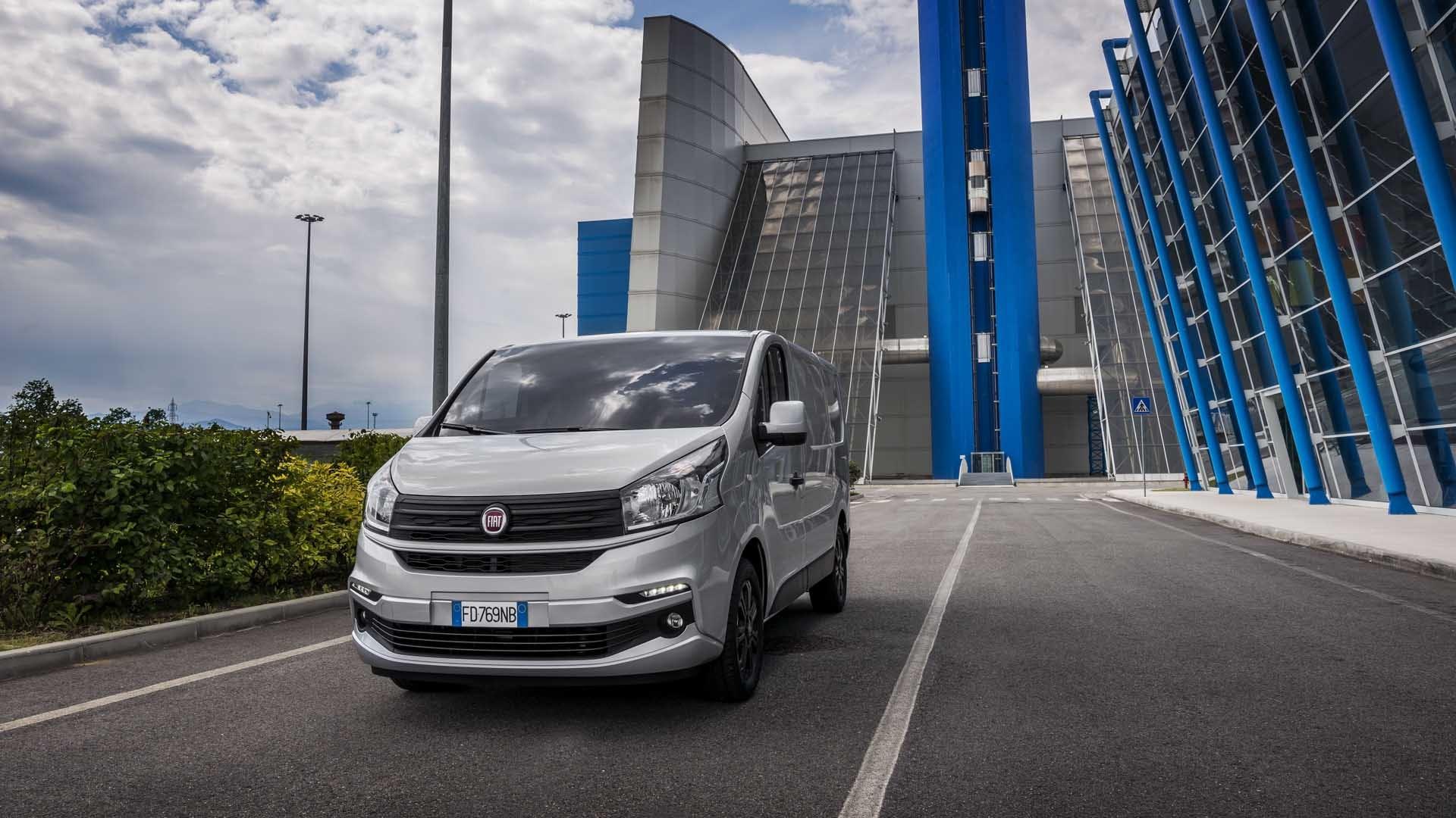 Fiat Talento front grå dynamisk
