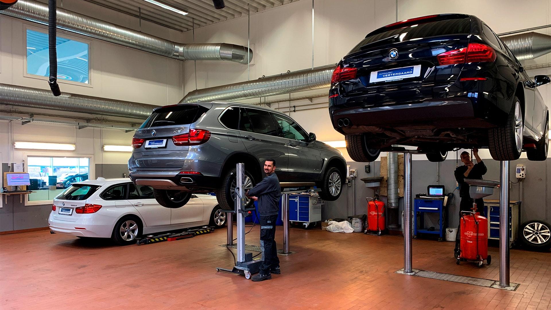 BMW Service Værksted i Birkerød