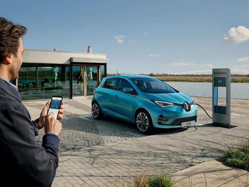 Renault Zoe opladning