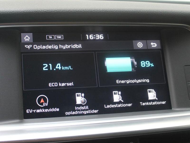 Hybridbiler rækkevidde