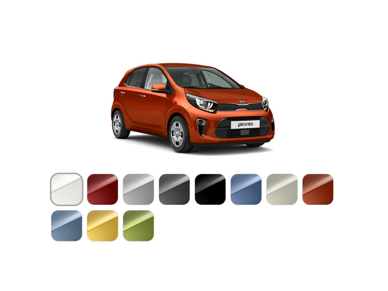 Kia Picanto farver